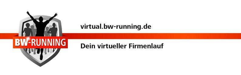Virtual.BW-Running - Dein virtueller Firmenlauf im Sommer 2020.